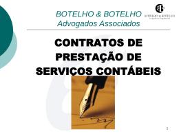 contratos contábeis