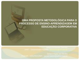 uma proposta metodológica para o processo de ensino