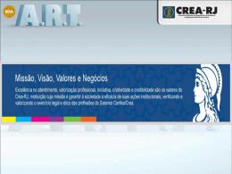 ART Nacional – Resolução 1025/2009 - Crea-RJ