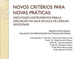 novos critérios para novas práticas(1)