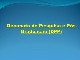 Apresentação DPP