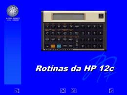 Práticas do Funcionamento da Calculadora HP12c