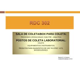 Clique aqui para baixar a palestra RDC 302
