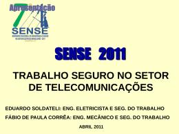 Trabalho em Altura Seguro no Setor de Telecomunicações