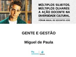 Palestra Miguel Paula
