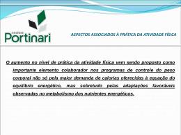 ASPECTOS ASSOCIADOS À PRÁTICA DA ATIVIDADE FÍSICA De