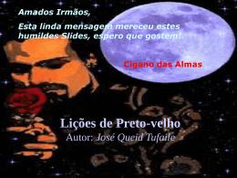 Lições de Preto