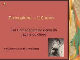 Pixinguinha – 110 ans