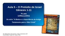 Paulo Lane - O Prelúdio de Israel