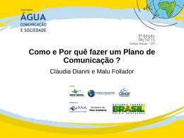 Comunicar - Seminário água, comunicação e sociedade