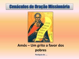 COMJulho2012Amos - Missionários Combonianos