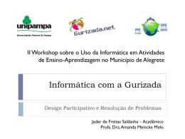 Informática com a Gurizada: Design