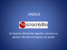 ANDCA microcrédito