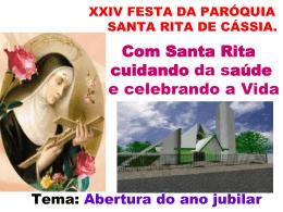 XXIV FESTA DA PARÓQUIA-2012