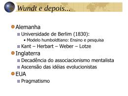 Wundt, Evolução, Funcionalismo