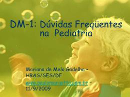 Diabetes mellitus-1: Dúvidas frequentes