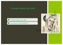 O Brasil depois de 1945 - Colégio Energia Barreiros