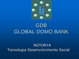 GLOBAL DOMO BANK