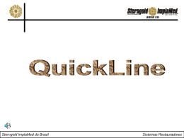 Sterngold ImplaMed do Brasil Sistemas Restauradores QuickLine