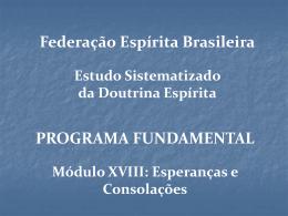 ModuloXVIII_Rot.II - Federação Espírita Brasileira