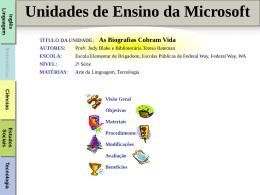 Biografias - Microsoft