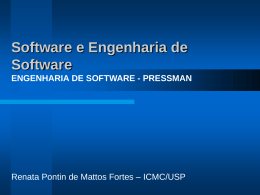 Capítulo 1 - Software e Engenharia de Software
