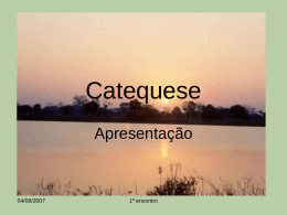 Catequese on line