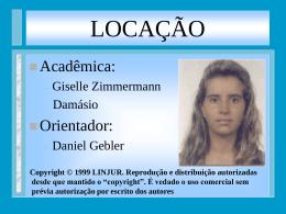 LOCAÇÃO - BuscaLegis