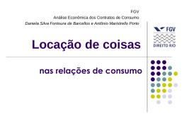 Locação - Acadêmico de Direito da FGV