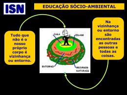 Educação Sócio-ambiental - Professores