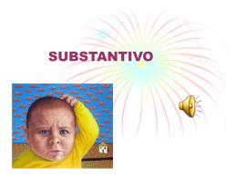formação do substantivo