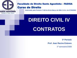direito civil iv