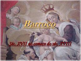 Barroco - Colégio Energia Barreiros
