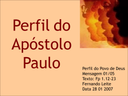 1.a CARACTERÍSTICA - (www.ibcu.org.br).