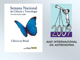Astronomia Mirim - Propostas para o Ensino de Física