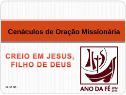 COMMarco2013 - Missionários Combonianos