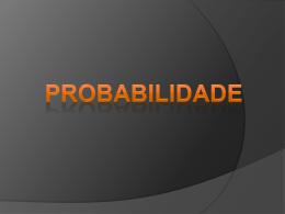 Probabilidade 2