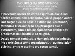 Evolução em Dois Mundos - André Luiz