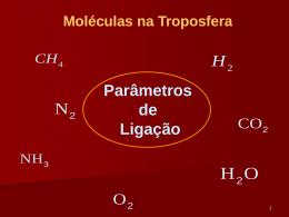 Parâmetros da ligação química