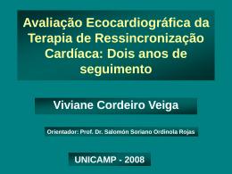 Avaliação Ecocardiográfica da Terapia de Ressincronização