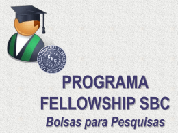 Book Comercial Programa Fellowship SBC