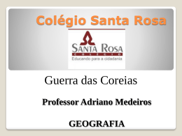 ASSÉDIO MORAL - Colégio Santa Rosa de Lima
