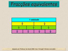 Fracções equivalentes