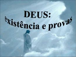 Deus Existência e Prova