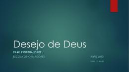 Desejo de Deus EdA Abril 2013 - CVX-S
