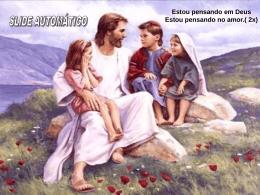 ESTOU PENSANDO EM DEUS
