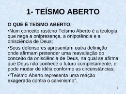 TEISMO ABERTO