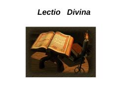 Leccio Divina