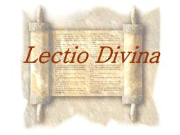 Lectio Divina - Diocese de Braga