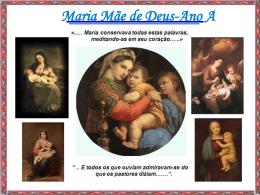 Maria Mãe de Deus-Ano A